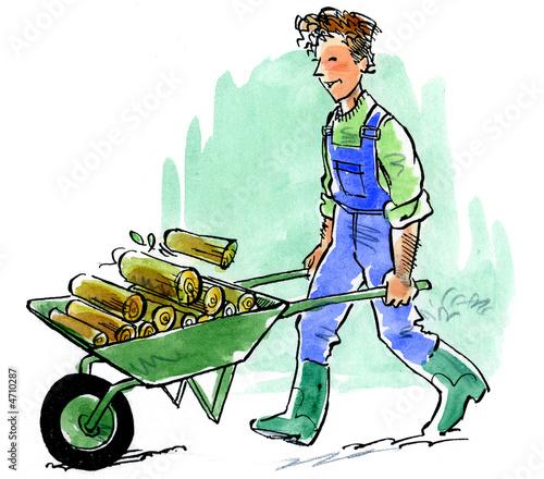 Aide domicile jardinage de pehel photo libre de for Jardinage a domicile tarif