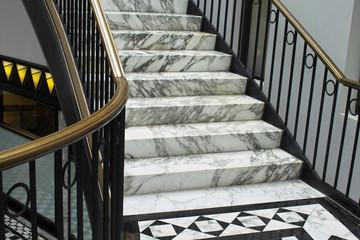 Detail einer eleganten Treppe