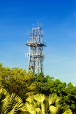 Mobile phone communication antenna  poster