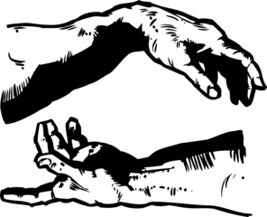The Hands of Creation Religion
