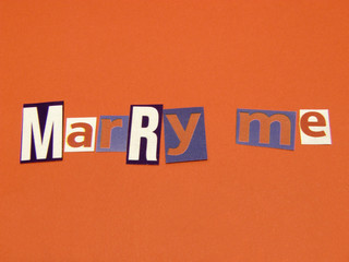 marry me - 1