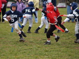youth flag football poster