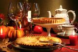 Thanksgiving desserts poster