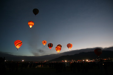 Balloon Fiesta 2007 Dawn Patrol