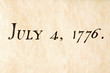fourth of july 1776