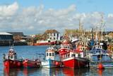 Fototapety Howht Harbour, Ireland, Dublin