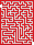 Find the way out from this maze poster