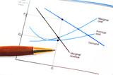 Economics Graph poster