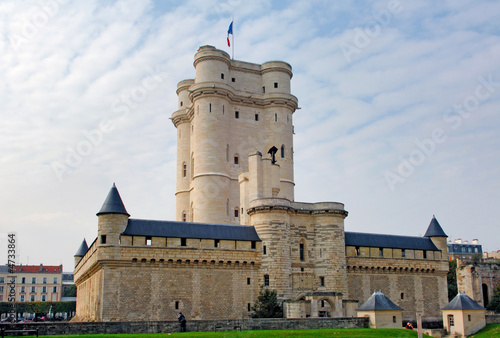 France, Paris: Chateau de Vincennes