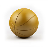 A render of a basketball