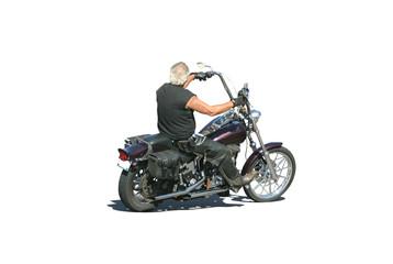 motorcycle biker