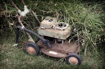 Rusty Lawnmower