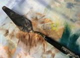palette knife poster