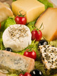 Quesos diferentes variedades - Different cheeses varieties