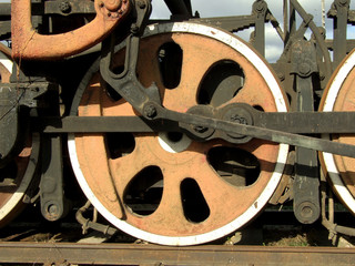 Locomotive's wheel