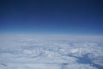 Stratosphäre Alpen