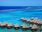 Fototapeta francuski - Polinezja - Wyspa
