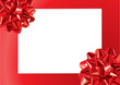 Gift Bows Frame (vector or XXL jpeg image)
