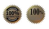 100% satisfaction guaranteed poster