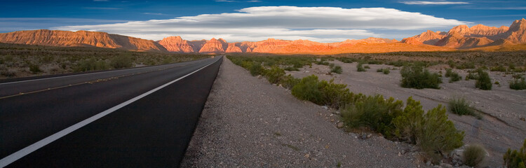 Road to Red Rock Canyon, Nevada