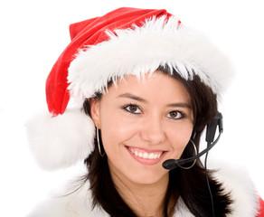 christmas customer service representative
