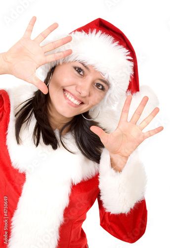 christmas female santa