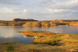 Lake Powell Peninsula and Water Landscape poster