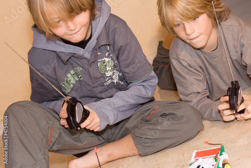 poster of happy children playing video game