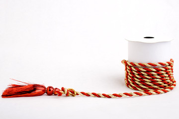 Red and Gold Cord