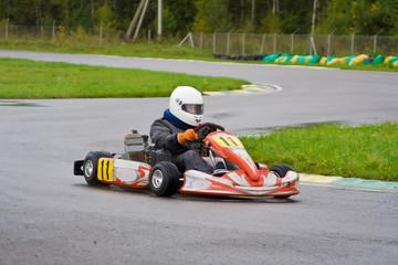 Go-Kart cornering
