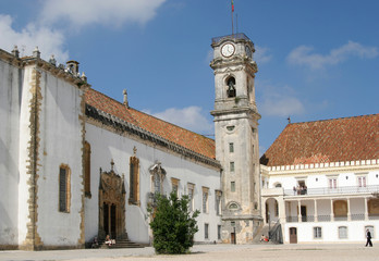 Courtyard of the University of Coimbra