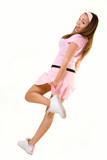 Pink attire poster