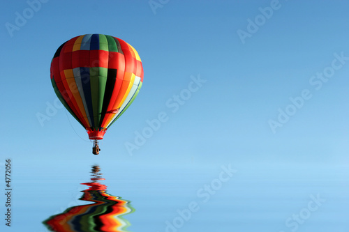 Fotobehang Ballon Hot air balloon