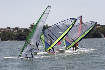 Sailboards Racing