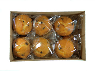 Chocolate chip muffins Individually wrapped