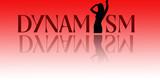 illustration dynamism poster