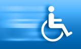 Mit Behinderung leben - Disability poster
