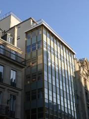Immeuble de bureaux en verre, Paris