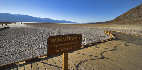 Oasis in Death valley.