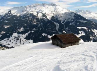 Massif du Beaufortain, Savoie, France