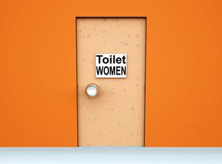 Toilet Door 6