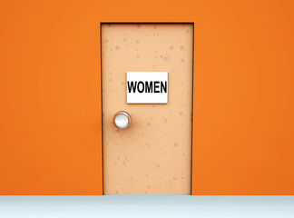 Toilet Door 7