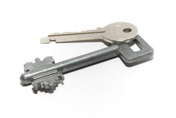 keys from an entrance door