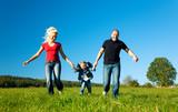 Fototapety Familie mit Kind