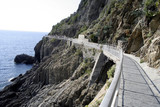 The Via D'Amore trail in Cinque Terre, Italy