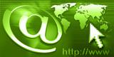 internet - e-mail - green poster