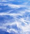 Cloudy blue sky 2