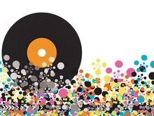 Kolor pop disco winylu