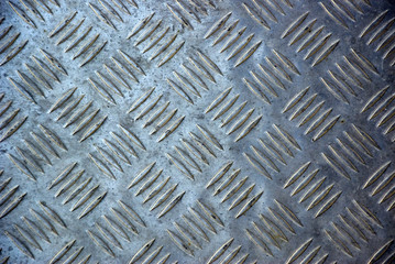 stamped metal sheet pattern