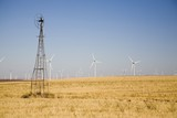 old versus new windmills poster